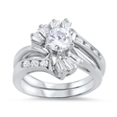Silver CZ Ring   -  $11.62