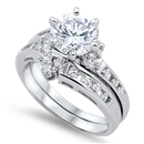 Silver CZ Ring  - $10.94