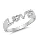 Silver Ring - Love  -  $7.53