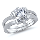 Silver CZ Ring  -  $11.13
