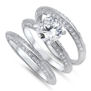 Silver CZ Ring  -  $19.18