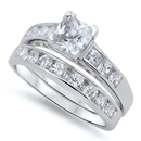 Silver CZ Ring  -  $14.06