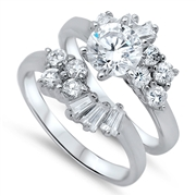 Silver CZ Ring  -  $20.66