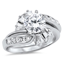 Silver CZ Ring -  $18.12
