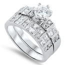 Silver CZ Ring  -  $14.98