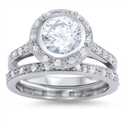 Silver CZ Ring  -  $13.83