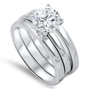 Silver CZ Ring  -  $26.36