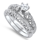 Silver CZ Ring  -  $12.81