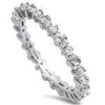 Silver CZ Ring - $6.88