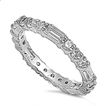 Silver CZ Ring  -  $5.81