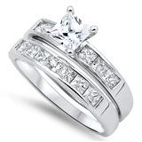 Silver CZ Ring - $10.66