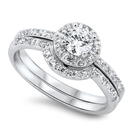Silver CZ Ring  - $9.38