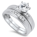 Silver CZ Ring  - $9.78