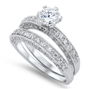 Silver CZ Ring  - $12.88