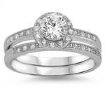Silver CZ Ring - $12.78