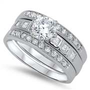 Silver CZ Ring - $14.55