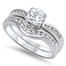Silver CZ Ring - $11.89