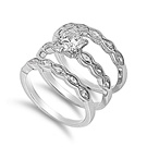 Silver CZ Ring - $8.58