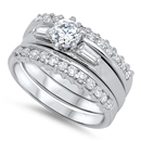 Silver CZ Ring - $15.85