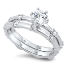Silver CZ Ring - $10.99
