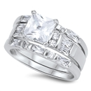 Silver CZ Ring - $16.24