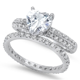Silver CZ Ring - $13.85