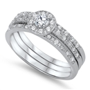 Silver CZ Ring - $15.24