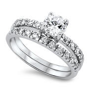 Silver CZ Ring - $10.56