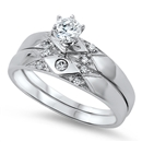 Silver CZ Ring - $13.17