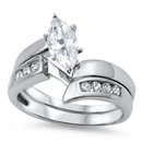 Silver CZ Ring - $10.09