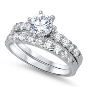 Silver CZ Ring - $9.18