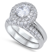 Silver CZ Ring - $16.87