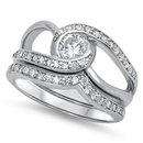 Silver CZ Ring - $21.72