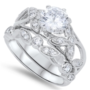 Silver CZ Ring - $12.22