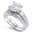 Silver CZ Ring - $13.22