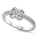 Silver CZ Ring - Infinity - $7.12