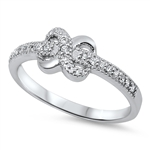 Silver CZ Ring - Infinity - $6.47