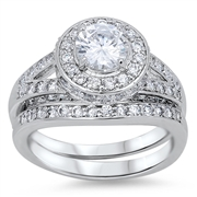 Silver CZ Ring - $19.90