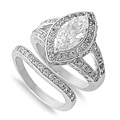 Silver CZ Ring - $16.30