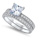 Silver CZ Ring - $9.04