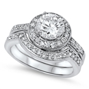 Silver CZ Ring - $13.07