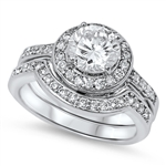 Silver CZ Ring - $18.2