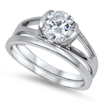 Silver CZ Ring - $14.23