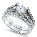 Silver CZ Ring - $14.03