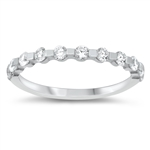 Silver CZ Ring - $4.84