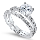 Silver CZ Ring - $12.93