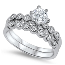 Silver CZ Ring - $17.46
