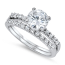 Silver CZ Ring - $9.61