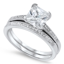 Silver CZ Ring - $9.97