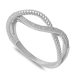 Silver CZ Ring - $5.75